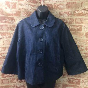 New York & Company Denim Jacket XL